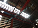 China Industrial Prefab 80 X 110 Steel Framed Buildings Consisted W Section Columns / Beam factory