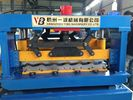 China Manual Cold Roll Forming Machine , Roof Panel Roll Forming Machine factory
