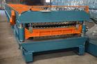 China 13KW Sheet Metal Roof Panel Roll Forming Machine CNC Servo factory