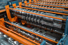 China Roof Sheet / Roof Tile Roll Forming Machine For Metal Roofing Tiles factory