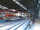 China Prefabricated Warehouse Curved Roof Industrial Structural Steel Shed factory