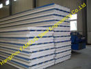 China Glass EPS Sandwich Roof Panel / Metal Roofing Sheets For Cladding factory