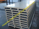 China Cold Room Corrugated EPS Sandwich Metal Roofing Sheets Wall Panels factory