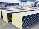China Warehouse Metal Roofing Sheets / Polyurethane Panel Heat Insulation factory