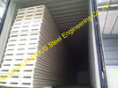 China Roofing Insulated Sandwich Panels / Perforated Metal Sheets Fireproof factory