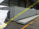 China Fiberglass Rockwool Insulated Sandwich Panels , Prefabricated Roof Wall factory