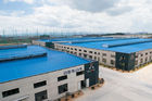 China OEM Prefabricated Steel Shed Storage, Shearing, Sawing, Grinding Pre-engineered Building factory