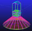 China Custom Hot Dip Galvanized, Waterproof, Prefabricated Steel Structural Engineering Designs factory
