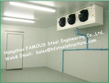 Solar System Box Storage Freezer Cooler And Blast Freezer Cold Room with PU Sandwich Panels