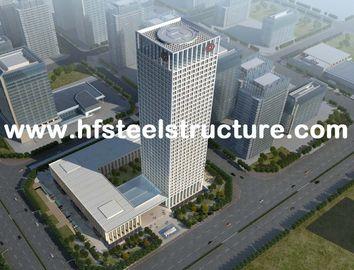Sawing, Grinding, Pre-Engineered Prefabricated Waterproof Commercial Steel Buildings