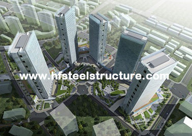 Hard And Durable, Hot Dip Galvanized, Industrial Waterproof Multi-Storey Steel Building
