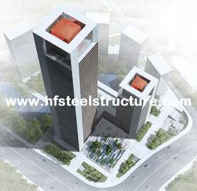 Industrial Prefabricated Steel Frame Prefab Building, Multi-Storey Steel Building
