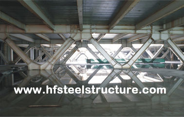 Framing System And Prefabricated Office Multi-Storey Steel Building For Mall, Hotel