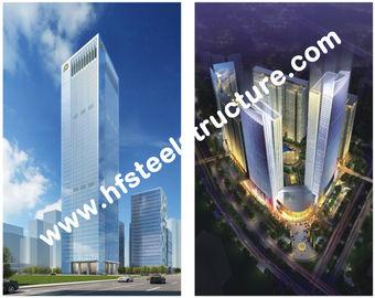 Custom Prefabricated Industrial Q235,Q345 Steel Storage Multi-storey Steel Building