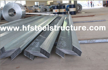 Wall Panels / Roll Formed Structural Steel Buildings Kits For Metal Building