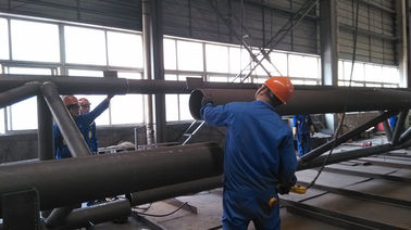 Pre-engineering Components Structural Steel Fabrications For Industrial Steel Building