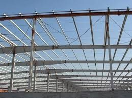 H Type Steel Pre-engineered Building Single Design For Farm Infrastructure