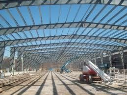 Steel Stable Pre-engineered Building For Large Shopping Malls