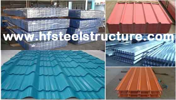 Customized Painting Metal Roofing Sheets Anti-corrosion 0.3mm - 1.2mm