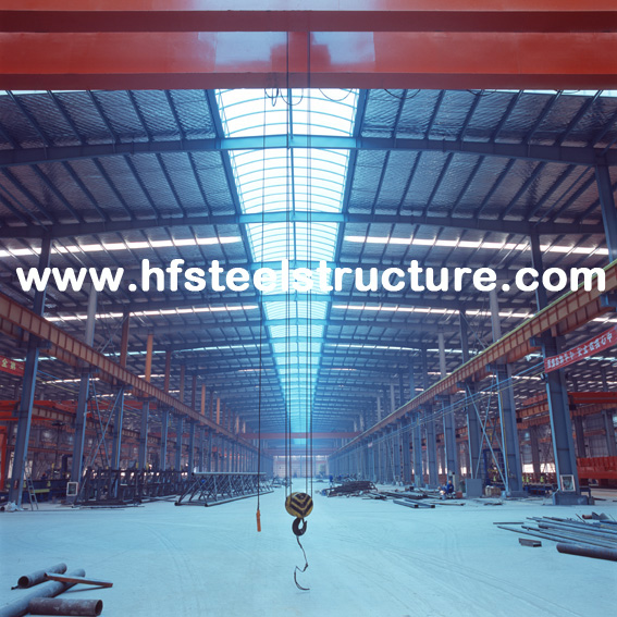 Wide Span Pre-Engineering Industrial Steel Buildings Frame , Movable Container House
