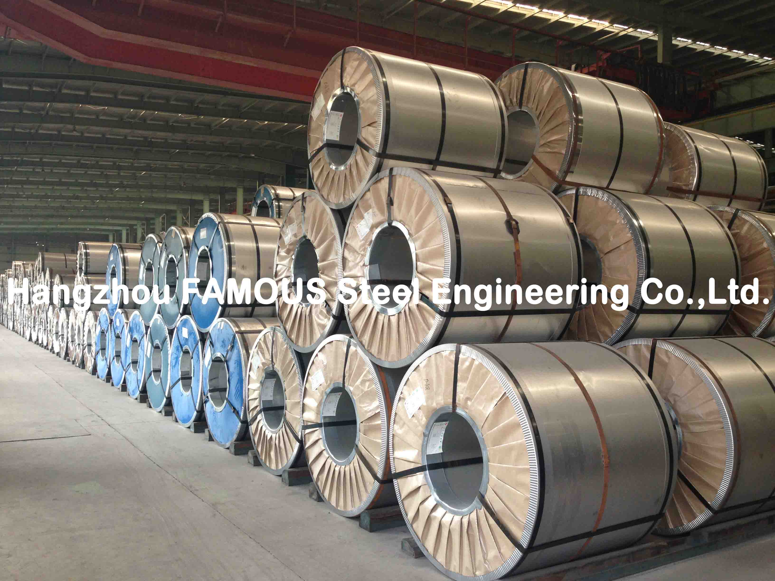 Galvalume Steel Coil Full Hard G550 With Anti-finger Print ASTM / A792 / CS B