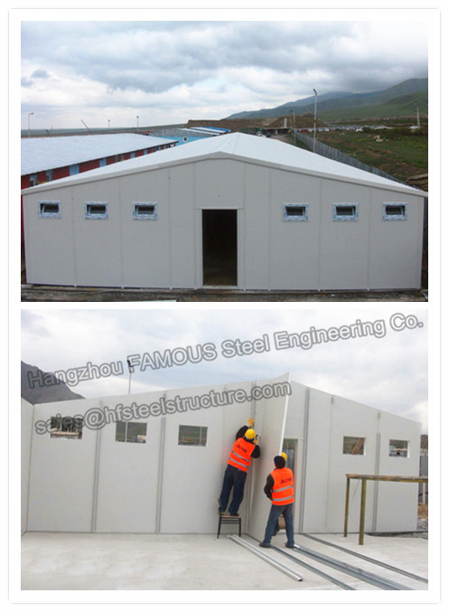 Metal EPS Insulated Sandwich Panels House Sandwich Panel Roofing