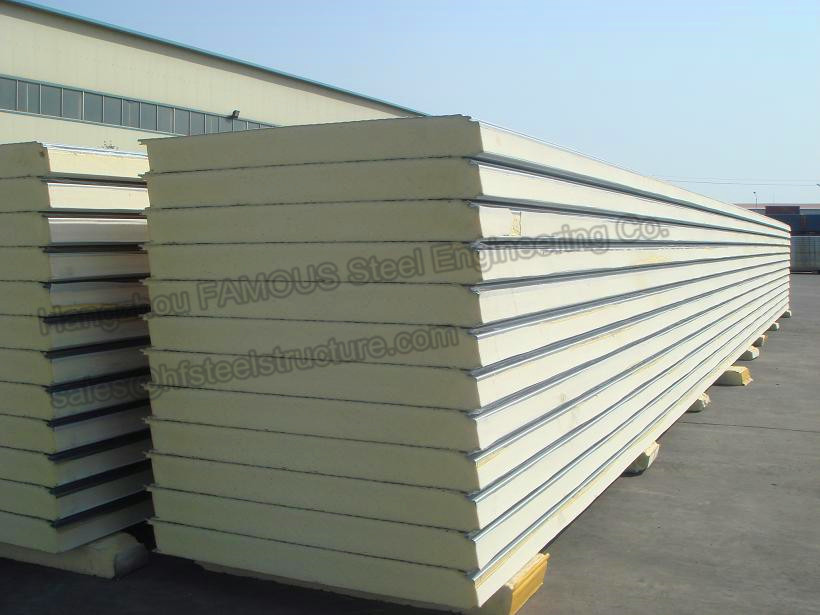 PU Cold Room Insulated Sandwich Panels