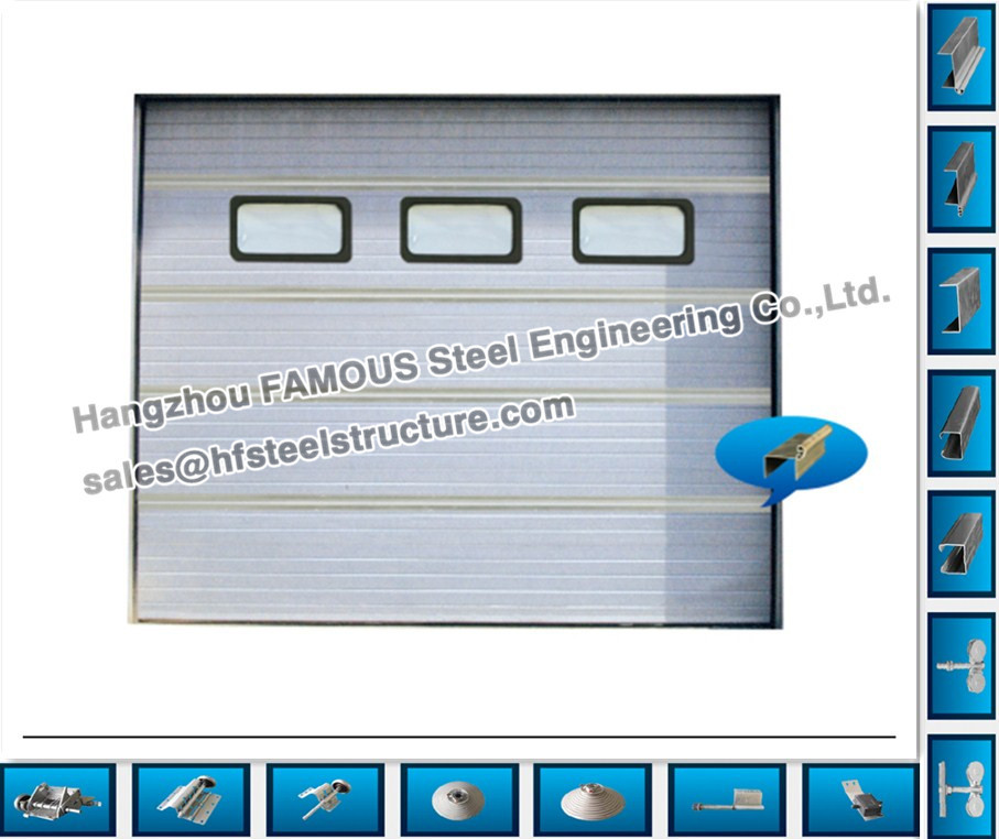 Industry Sliding Door  Steel Workshop And Warehouse