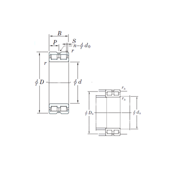 DC4860VW KOYO Cylindrical Roller Bearings