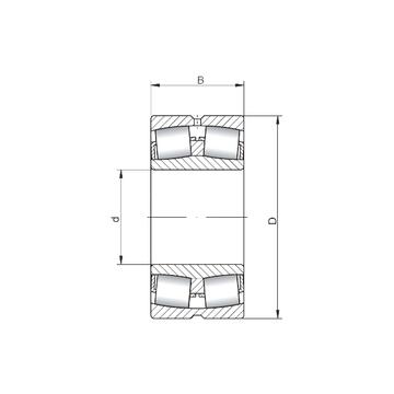232/560W33 ISO Spherical Roller Bearings