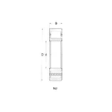 NJ318 CRAFT Cylindrical Roller Bearings