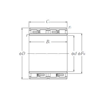 4R4041 NTN Cylindrical Roller Bearings