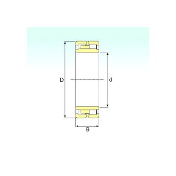 NNU 4944 K/SPW33 ISB Cylindrical Roller Bearings