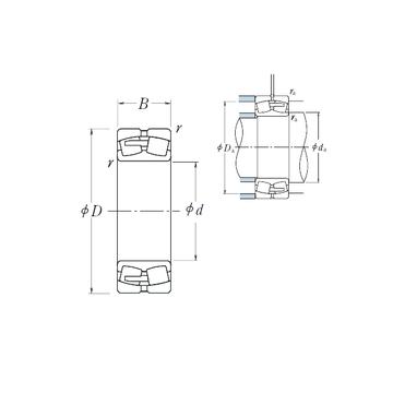 240/1250CAE4 NSK Spherical Roller Bearings